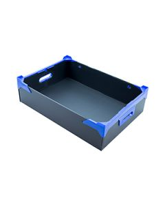 Black Corrugated Plastic Box