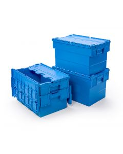 Attached Lid Container 33 Litre L400xW300xH350mm
