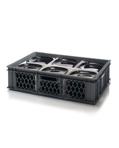 Bowl / Saucer Storage Crate