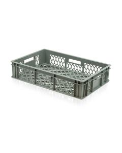 Perforated Plastic Euro Crate L600xW400xH130mm