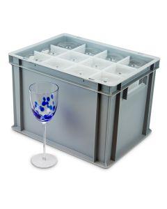 Wine Glass Euro Storage Box
