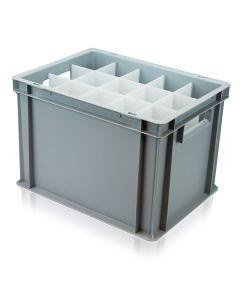 White Wine Glass Euro Storage Box