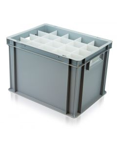 Slim Glassware Euro Container