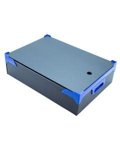 Stackable Plastic Box L510xW360xH100mm