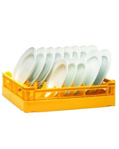 Open Base Dishwasher Plate Rack