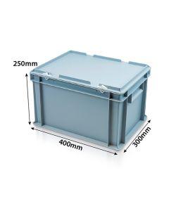 Euro Plastic Case L400xW300xH250mm