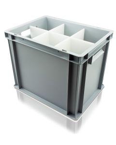 Coupe Glass Euro Storage Box