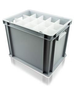 Euro Container For Wine Glasses