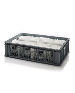Saucer Crate With 8 Cells Plate Size Up To 140MM