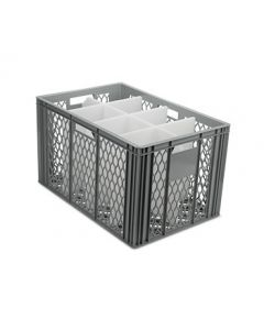 Espresso Coffee Cup Storage Crate