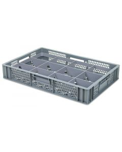 Bottom Divider with 12 cells for 600 x 400mm Euro crates