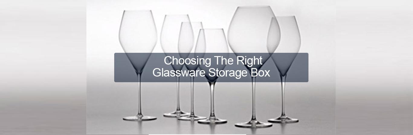 Choosing the Right Glassware Storage Box