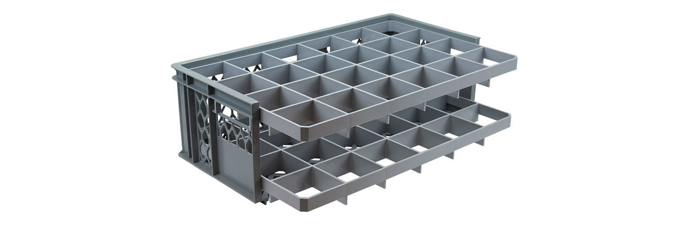 Caterbox Launches a NEW line of Glassware Dividers for 600 x 400mm Crates.