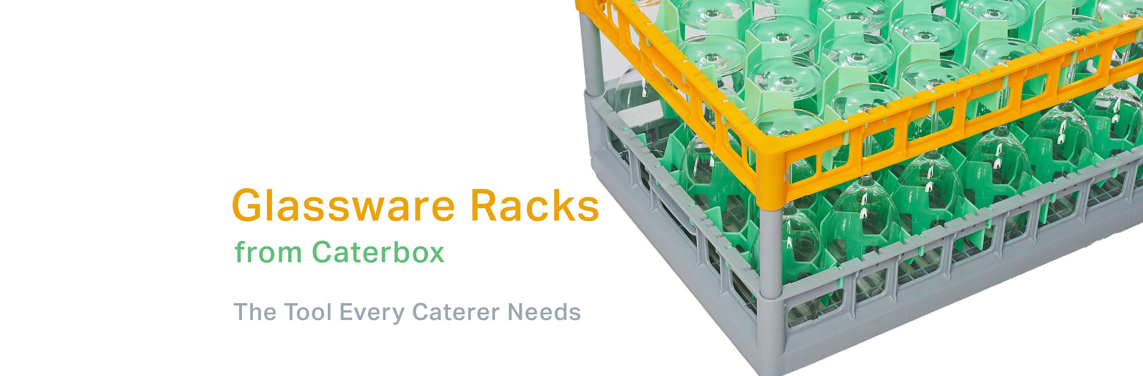 Glassware Racks from Caterbox, the Tool Every Caterer Needs