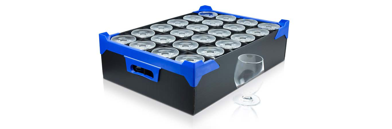 Caterbox's Correx Glass Boxes are ideal for storage and transportation of your glassware!