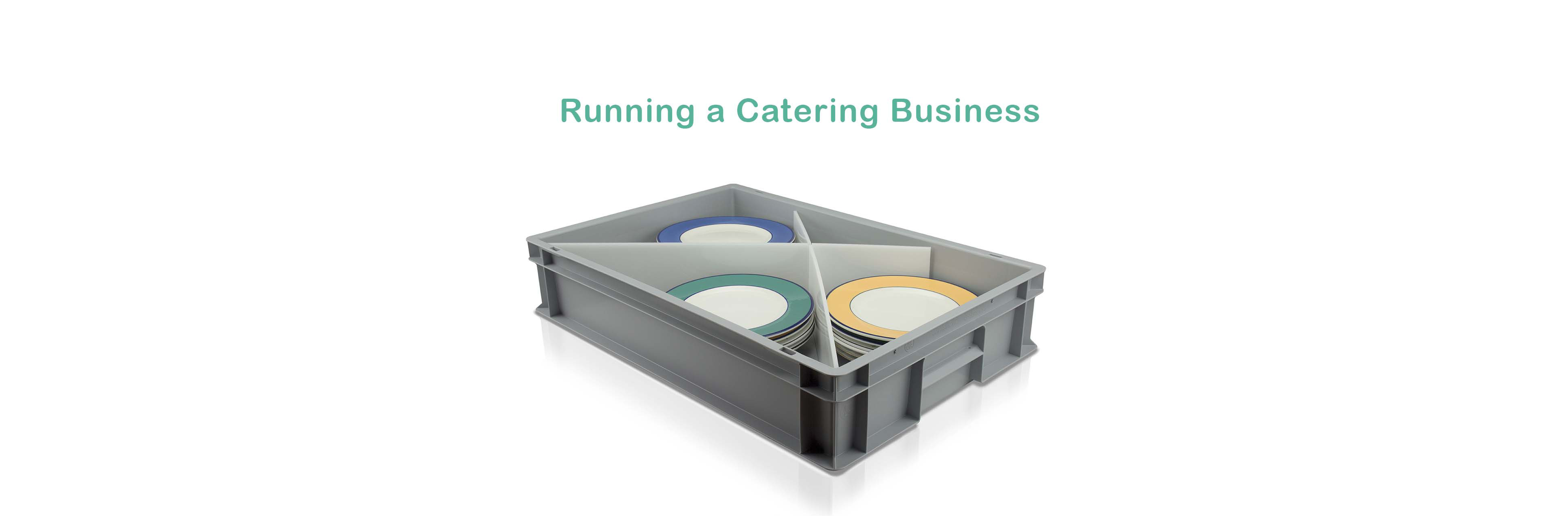 When You Run A Catering Business You Need To Take Care Of Your Ware