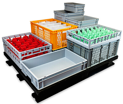 Euro Pallet Containers