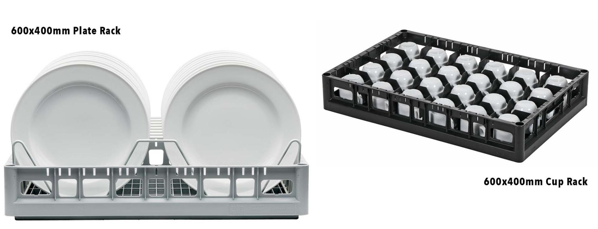 Conveyor Dishwasher Plate Rack