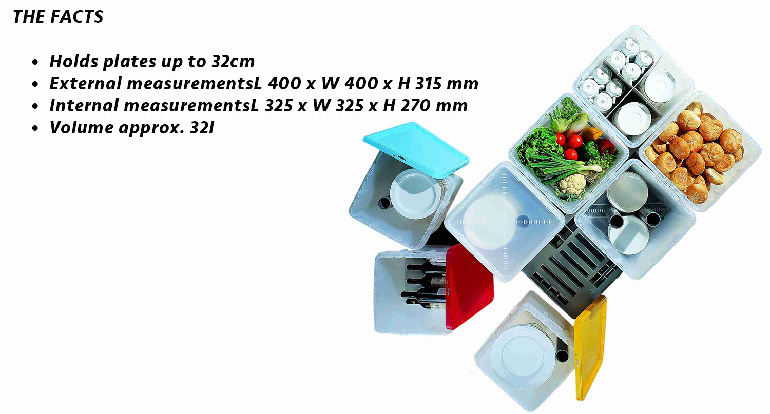 Catering Equipment Storage and Transport Box | Plate Storage Boxes