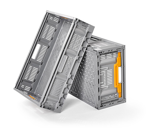 Collapsible and Stackable Containers