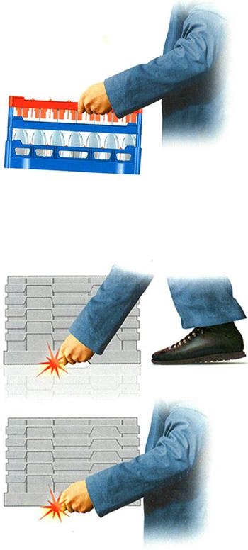 Easy Carry Glassware Storage Boxes