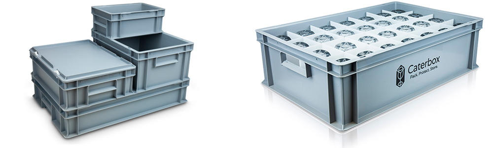 Branded Glassware Storage Boxes
